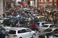 Vehículos en el Salón del Automóvil